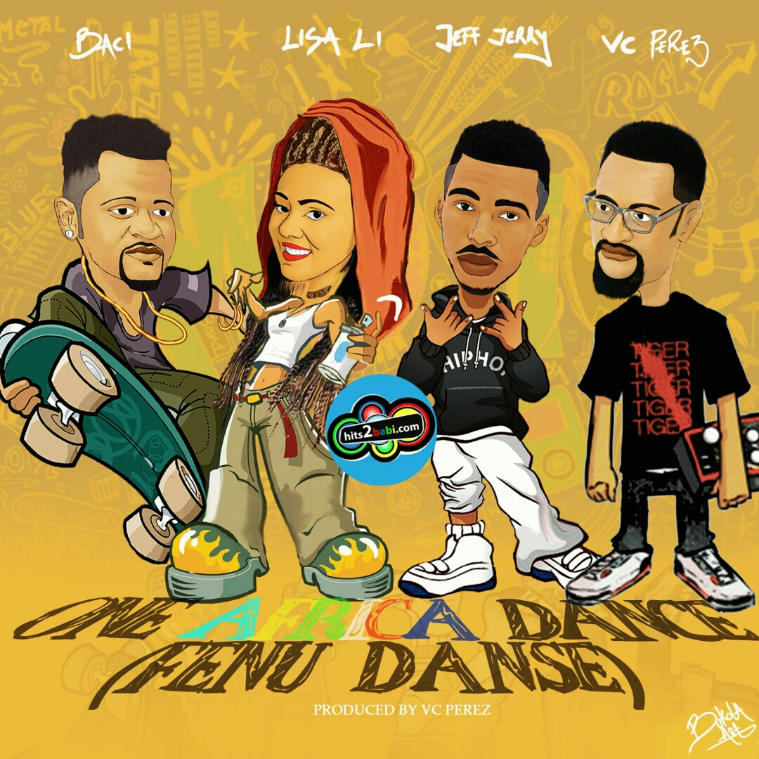 BACI,LISA LI,JEFF JERRY,Prod.by VC PEREZ - ONE AFRICA DANCE (Fenu Dansé)