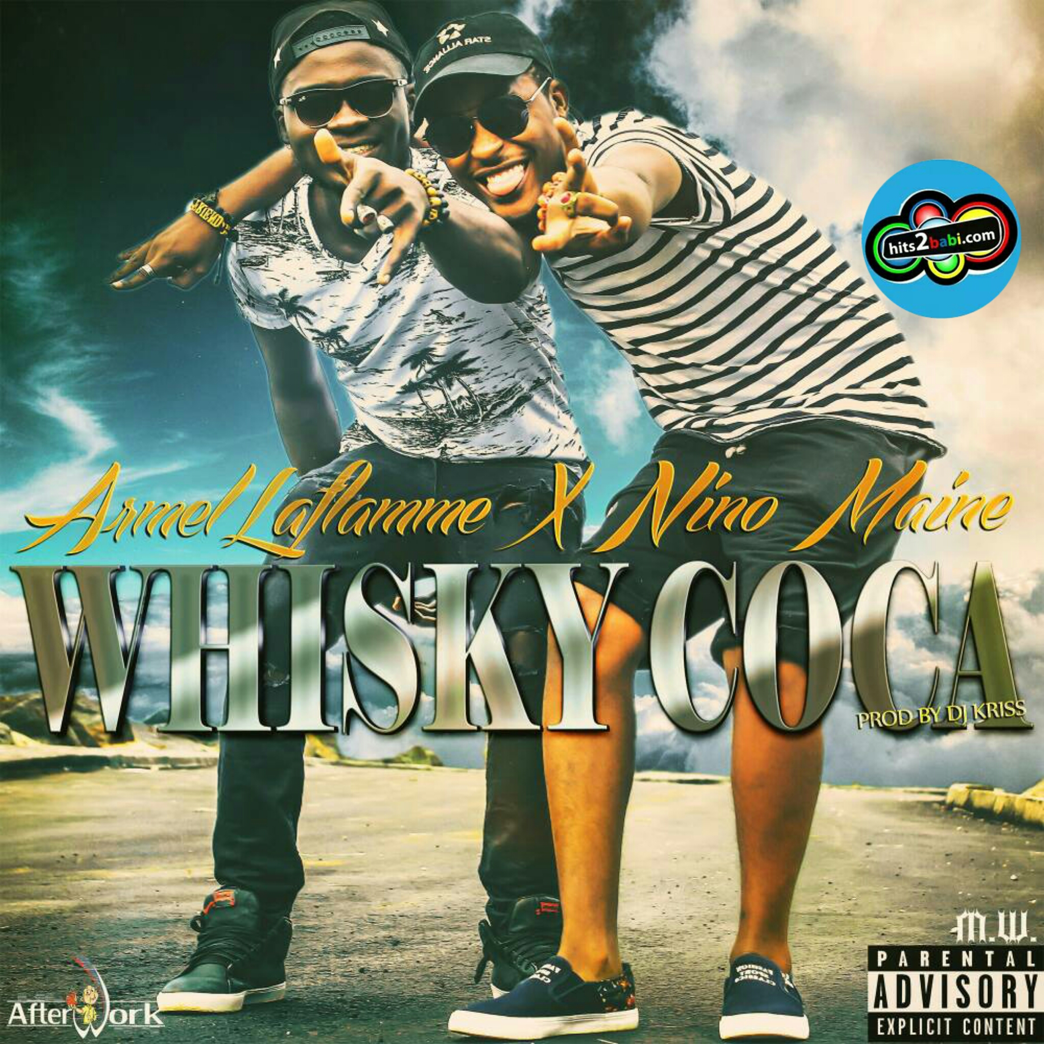 ARMEL LAFLAMME FEAT NINO MAINE - WHISKY COCA