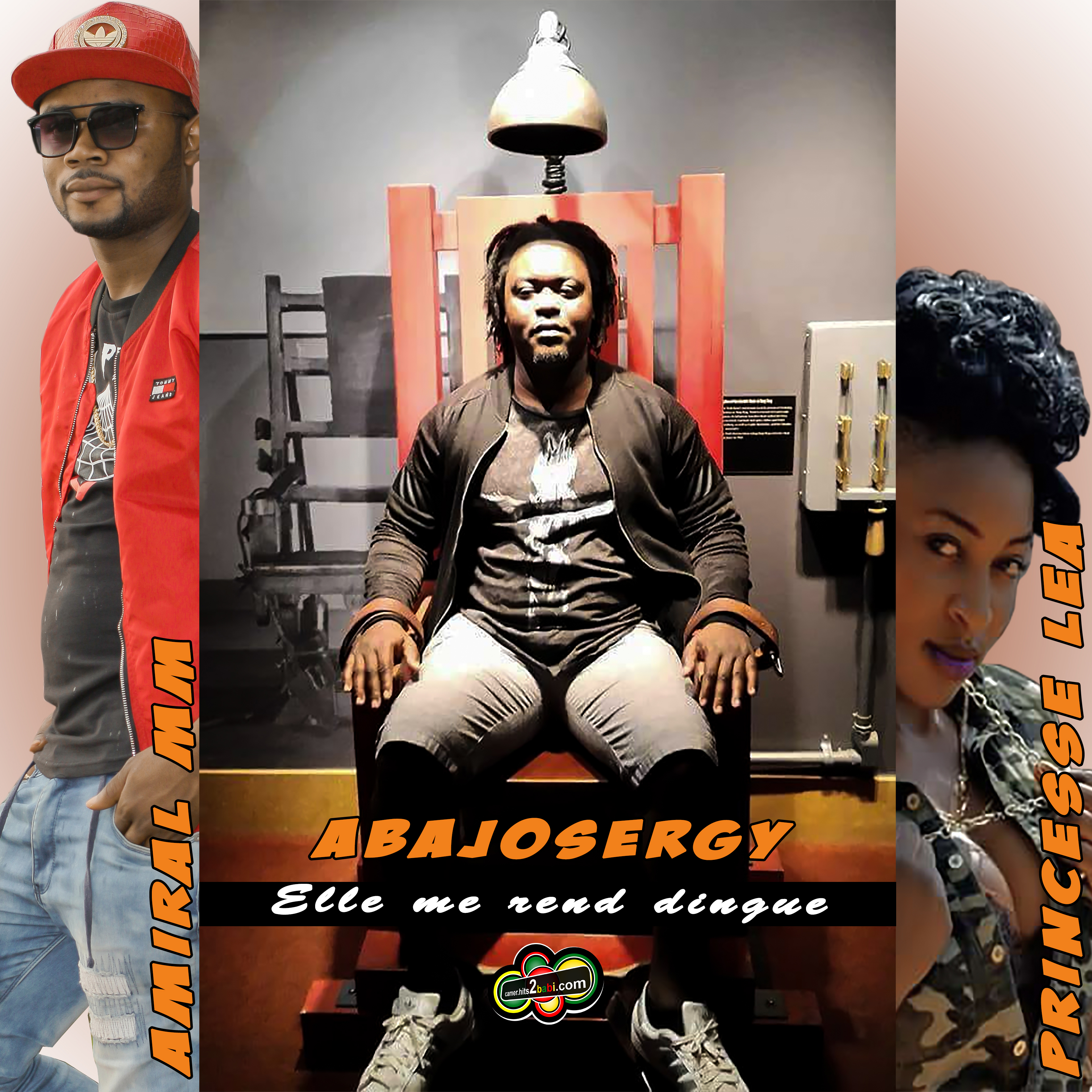ABAJOSERGY FT AMIRAL MM & PRINCESS LEA - ELLE ME REND DINGUE