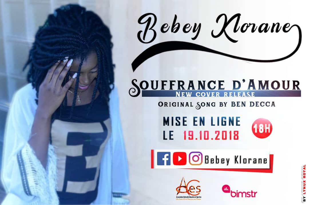 BEBEY KLORANE - SOUFFRANCE D'AMOUR (COVER. Original Song By BEN DECCA)