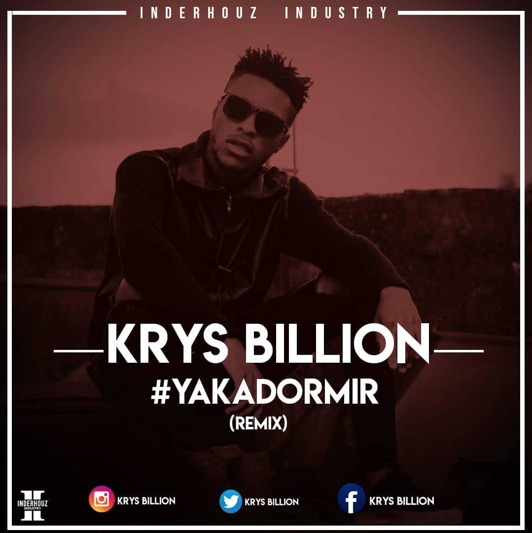 KRYS BILLION - #YAKADORMIR (REMIX KIFF NO BEAT)