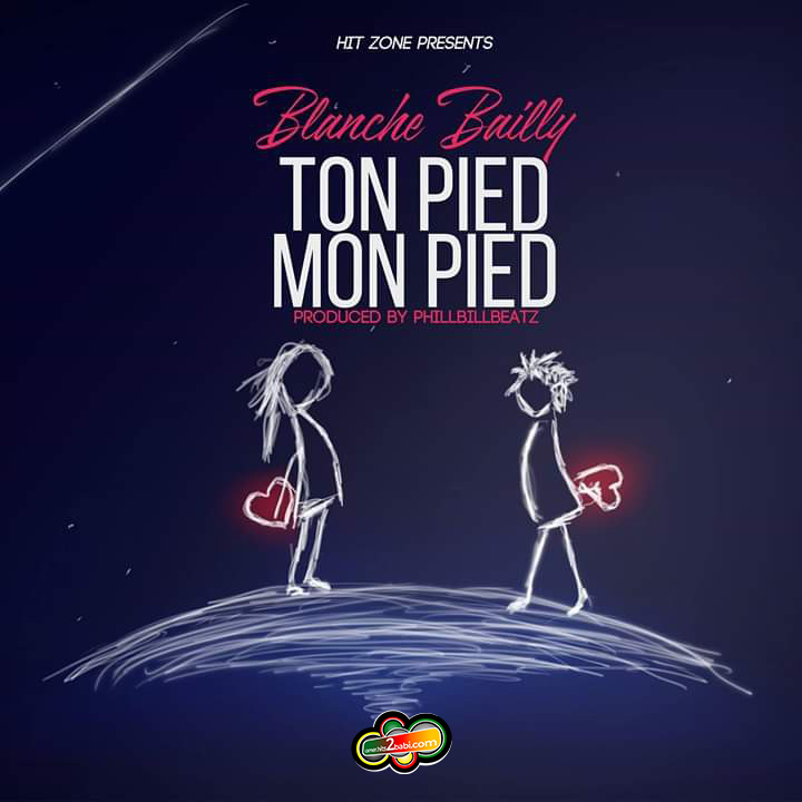 BLANCHE BAILLY - TON PIED MON PIED
