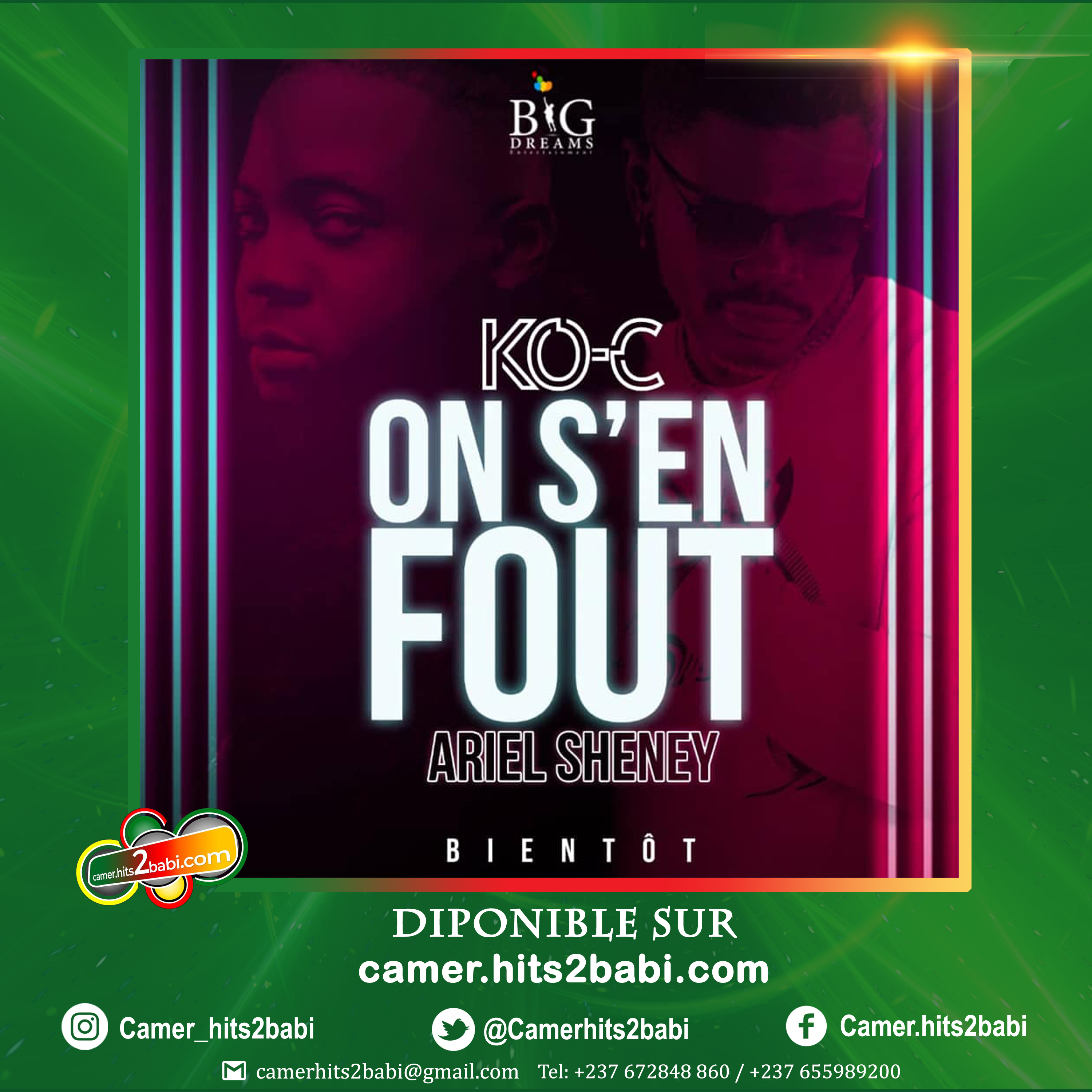 KO-C FT ARIEL SHENEY - ON S'EN FOUT