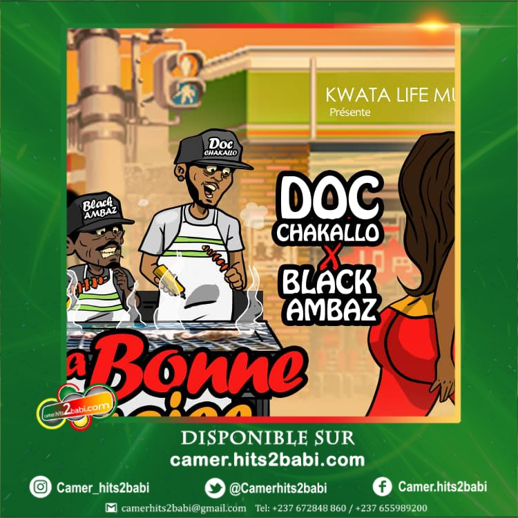 DOC CHAKALLO FEAT BLACK AMBAZ - LA BONNE BRAISE